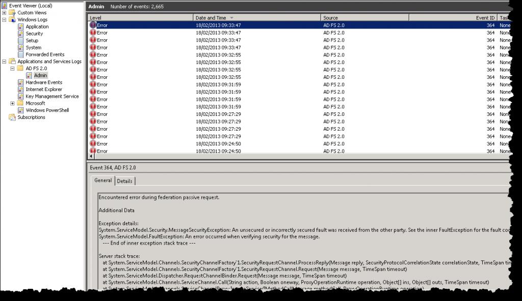SharePoint - Error 364 and 8311