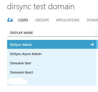 Dirsync - Syncroisation successful
