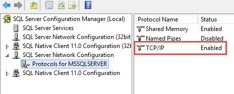 SQL Server AlwaysOn - Enable TCPIP
