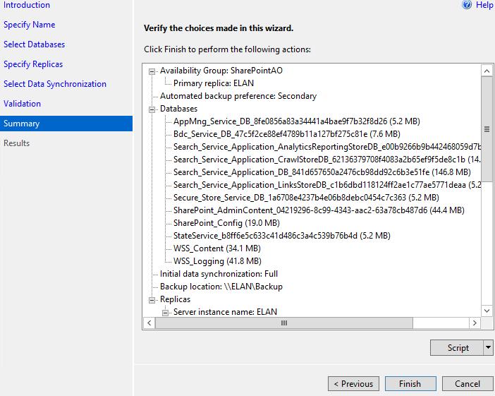 SQL Server AlwaysOn - Summary