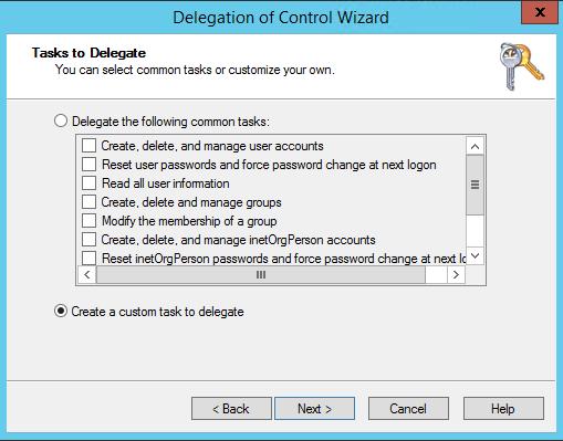 SQL Server AlwaysOn - delegation task