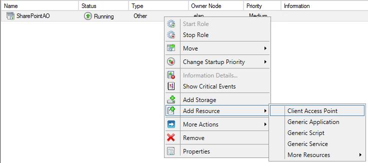 SQL Server AlwaysOn - Client access point