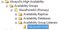 SQL Server AlwaysOn - Select AG