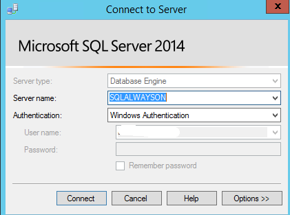 SQL Server AlwaysOn - Connect to listener