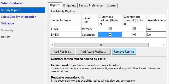 SQL Server AlwaysOn - Add replicas
