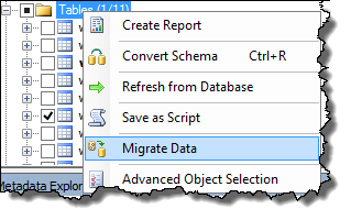 WordPress on Azure - Azure SQL migrate data