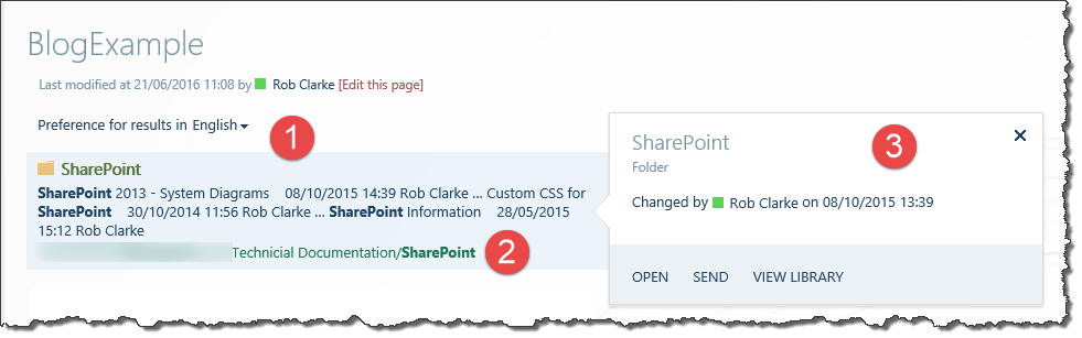 Sharepoint customising search result web part display template the web part has 3 display templates all working together to product a single page maxwellsz