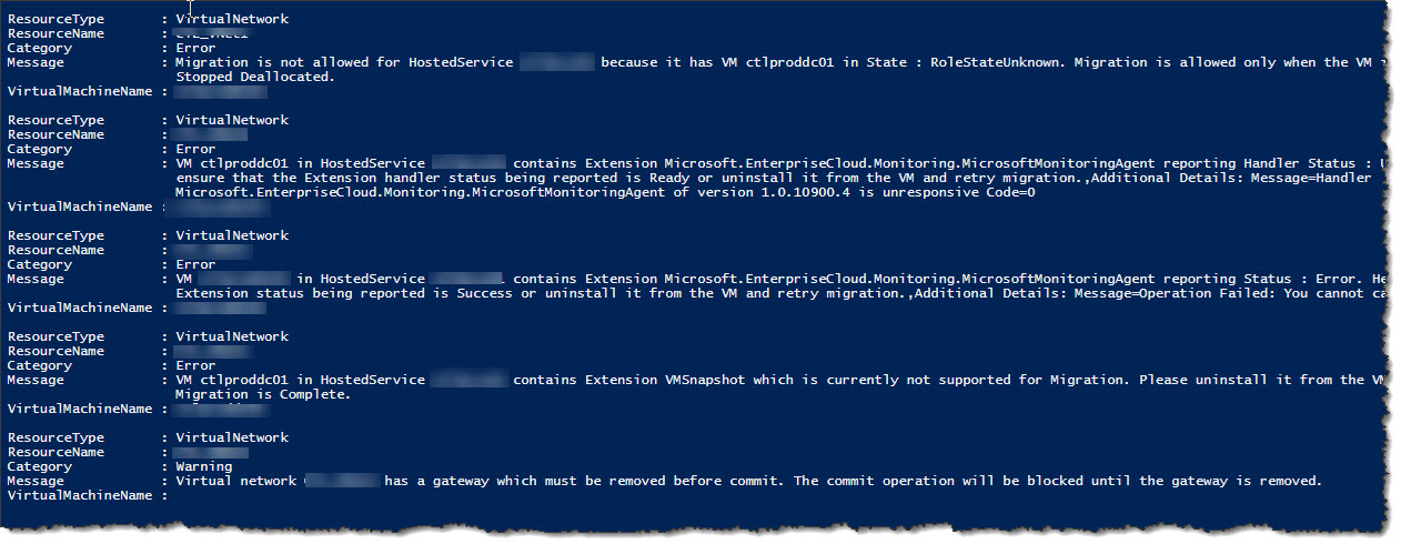 Azure - Migrating ASM to ARM - Removing extensions - IT Geek Rambling