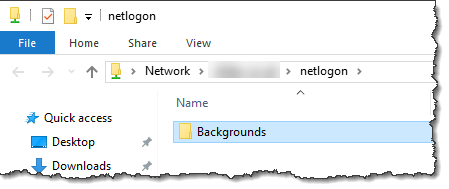 Windows Server 2016 - Changing the background image using GPO