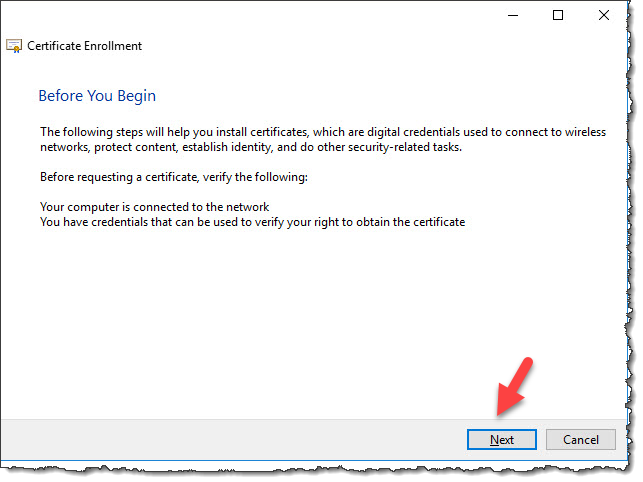 Create Kerberos domain authentication root certificate - Windows Hello for Business
