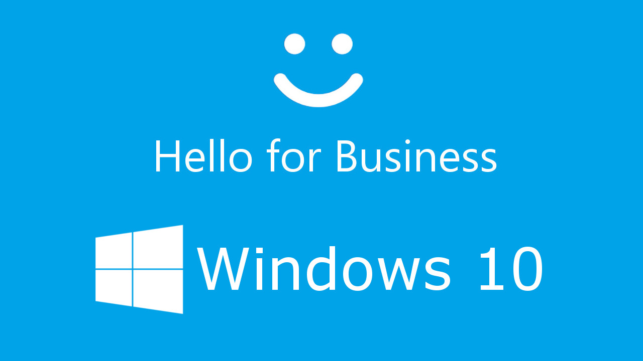 Windows 10 Hello for Business