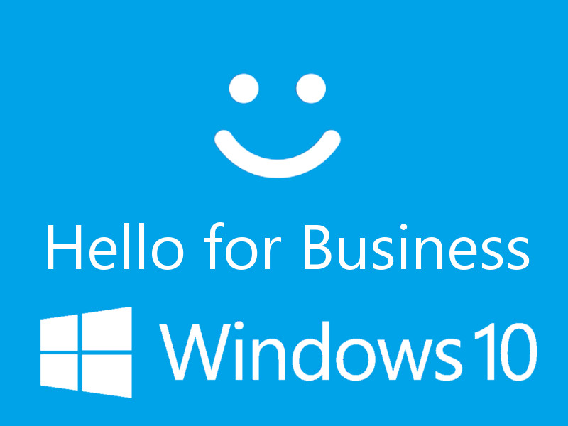 Windwos Hello for Business - Windows 10