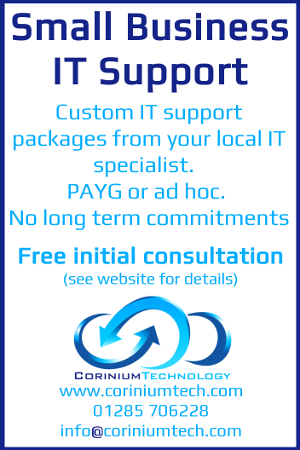 Corinium Technology - Small business IT support - Cirencester - 01285 706228