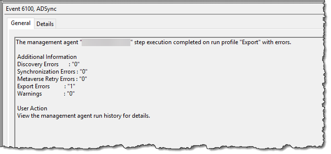 Windows Application Error 6100