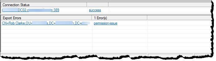 Error 8344 - Permission Issue
