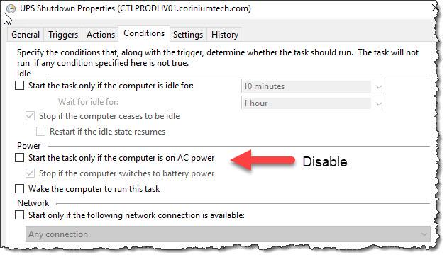 Hyper-V - Using a UPS with Hyper-V Server, graceful shutdown and